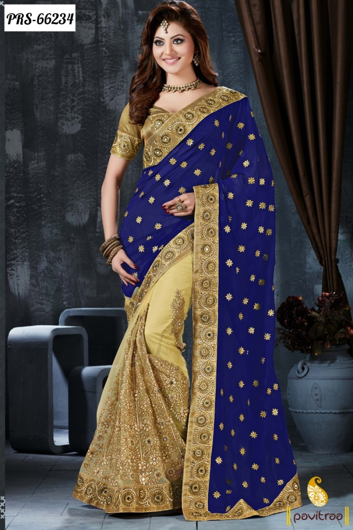 fancy latest designer collection sarees 2016-2017 – bollywoodfashion