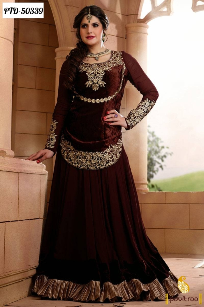Awesome Indian Anarkali Suits Designs For Women 2013 ~ Fashion Trends