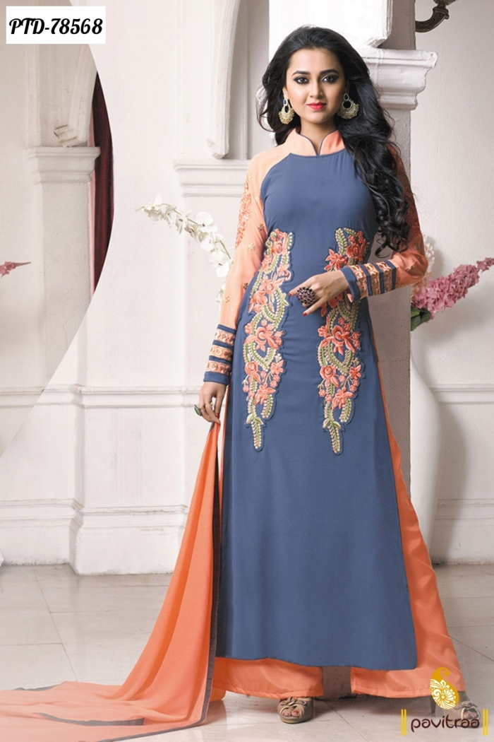 Latest Party Wear Salwar Kameez Online from the largest indian cloths shopping portal Get free shipping on designer salwar suits at Mirraw This website .